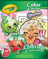 Crayola Color & Sticker Book - Shopkins